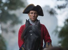 Black Jack Randall (Tobias Menzies), is such a good actor.  I really do see him as 2 different characters (Frank and Black Jack)