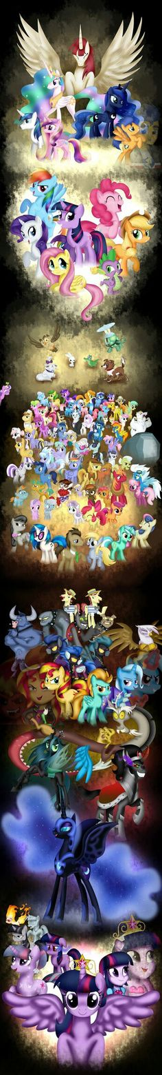 All of ponyvill