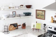 Open Shelf Styling