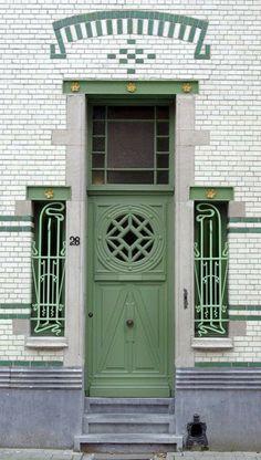 Door Entryway, Entrance Doors, Doorway, Garage Doors, Cool Doors, Unique Doors, Door Gate, Painted Doors, Closed Doors