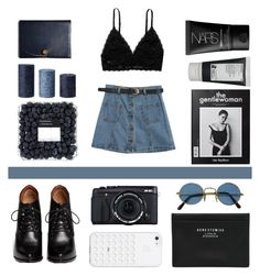 """""""#4"""" by natashalongmuir ❤ liked on Polyvore featuring Chicnova Fashion, Monki, Givenchy, Acne Studios, Coach, Korres and NARS Cosmetics"""