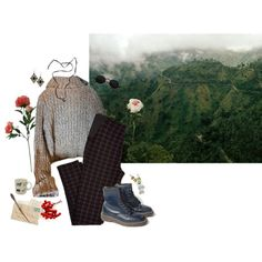 solitude by thesmiths84 on Polyvore featuring Free People, Dr. Martens, Baccarat, Boohoo, Threshold, Laura Cole and Fishs Eddy