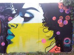 Street art by Jess Tobin aka Novice Dublin, Four Square, Art Work, Street Art, Vibrant, Illustration, Artist, Painting, Artwork