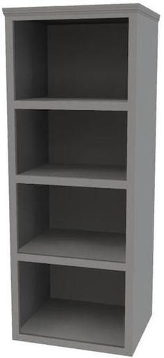 How to build a tall bookshelf - Free plans and tutorial from SawdustGirl.com