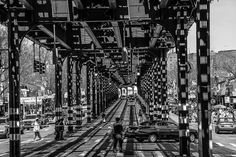 Jerome Avenue El, Moshulo Parkway Stop, Bronx, New York by birdlives9 #Photography #NYC