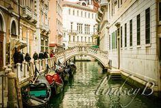 Venice Italy Water way by lindseyBPhotography on Etsy, $20.00