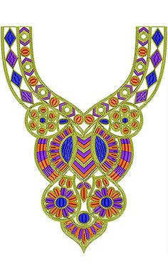 In this category, you would find Cording Neck embroidery designs as per demand from Tunisia, Algeria and Afghanistan clients. You can always use our service to modify or create similar neck embroidery designs from us of any type and concept. Geometric Embroidery, Beaded Embroidery, Embroidery Stitches, Embroidery Patterns, Hand Embroidery, Latest Embroidery Designs, Machine Embroidery Designs, Beads Clothes, Tulle Balls
