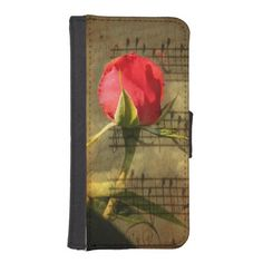 Vintage Love Story Symphony Phone Wallet Case