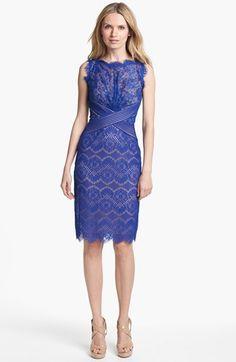 Tadashi Shoji Lace Sheath Dress available at #Nordstrom