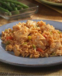 Cheesy Taco Chicken Rice http://wm13.walmart.com/Cook/Recipes/32902