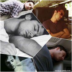Sebastian ⭐ Stan sleeping created by Kimberlydyan