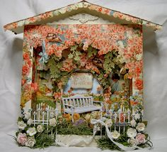 Shabbypinkhouse's Gallery: Martica's SS Secret Garden Swap this creation was for me in swap....