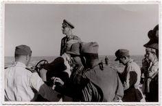 NAZI JERMAN: Foto Erwin Rommel Sebagai Panglima Afrikakorps Erwin Rommel, Field Marshal, Afrika Korps, Johannes, North Africa, World War Ii, Army, Military, German