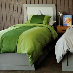 Elie Green Duvet Bedding Set