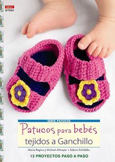 Patucos para bebés tejidos a ganchillo http://www.editorialeldrac.com/Drac/fichaPublicacion.aspx?Id=2315