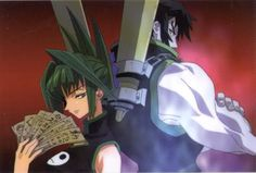 Tao Jun and Lee Pai-Long from Shaman King