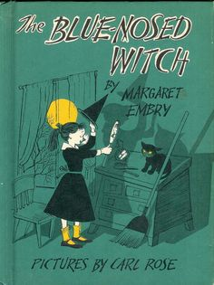 Vintage Childrens Book / The Blue Nosed Witch by M. Embry 1956 Hc VGC / Young Witch Joins A Group of Children For Trick or Treating Halloween Books, Halloween Signs, Holidays Halloween, Vintage Halloween, Halloween Stories, Vintage Holiday, Halloween Queen, Halloween Table, Halloween Halloween