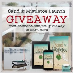 Enter to win a beautiful canvas of scenes reminiscent of Sand & Mistletoe.  THREE prizes available.