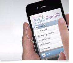 Fusion on the GO! Hoy día se puede hacer casi todo desde un teléfono móvil y los mensajes de correo electrónico por vídeo de Talk Fusion no son ninguna excepción. A través de nuestra aplicación móvil Fusion On the Go, puede crear y enviar emocionantes mensajes de correo electrónico por vídeo desde cualquier iPad, iPhone o dispositivo móvil Android.  Fusion On the Go es fácil de usar, rápido e intuitivo. ¡Consiga el increíble poder de la mensajería en vídeo literalmente con la punta de los…