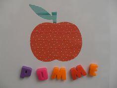 Gabulle in Wonderland: Pomme en masking tape (apple in washi tape) http://gabulleinwonderland.blogspot.fr/