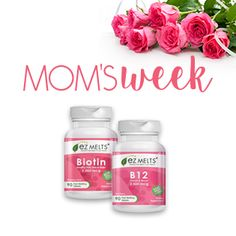 EZ Melts is participating in Mom's Week on Thursday May 7th at 3pm EST!