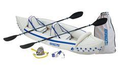 Sea Eagle 330 Inflatable Kayak with Pro Package for sale online Fishing Kayak Reviews, Best Fishing Kayak, Going Fishing, Fishing Boats, Sea Fishing, Inflatable Fishing Kayak, Inflatable Boat, White Water Kayak, Kayak Seats
