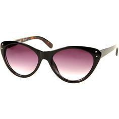 Cats Eye Sunglasses ($32) via Polyvore