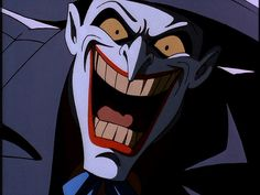 Joker from the Batman Animated Series voiced by Mark Hamill - fun times!