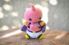 Majin Buu Dragon Ball Z Crochet Plush Amigurumi by handmadebykimm