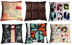 fun graphic pillows