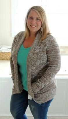 Papermoon Jerrard Heathered Open Front Cardigan-this or I've seen it in Coral!