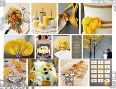 2013 Pewter and Yellow Colour Trend the shoes are an amazing color here Color Trends, Pewter, Palette, Colour, Table Decorations, Yellow, Amazing, Wedding, Shoes