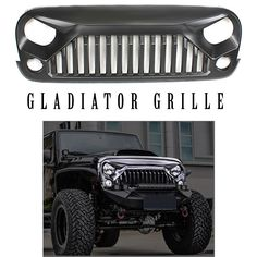 Jeep Wrangler Gladiator Grille JK (2007 - 2017) Pre Order Ships December