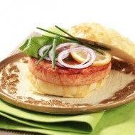 Salmon Burgers Sous Vide