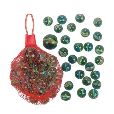Glass Marbles - duh -what a great gift!