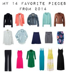 Outfit Posts: outfit posts - 14 favorites pieces from 2014 Note- some may be too youthful but read through blog for ideas