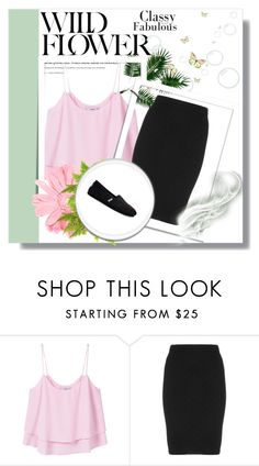 """""""****"""" by aammiraa ❤ liked on Polyvore featuring MANGO, Manon Baptiste and TOMS"""