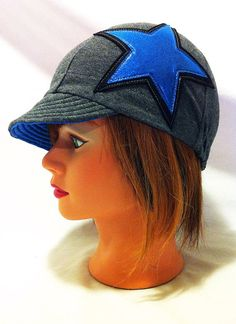 Roller Derby Jammer Inspired Hat  Custom Colors by ArmrdRoseDerby, $29.00