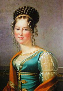 Retrato de Maria Antónia de Koháry, mãe de D. Fernando II de Portugal.