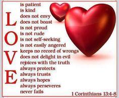 Love never fails <3