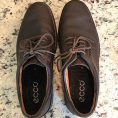 54a755d9fd Ecco Shoes | Men'S Ecco Leather Dress Shoes Sz 8 (42) | Color: Brown | Size:  8