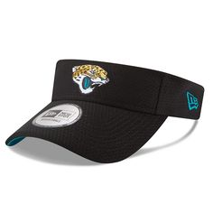 Men s New Era Black Jacksonville Jaguars 2018 Training Camp Primary Visor 7f10c0278
