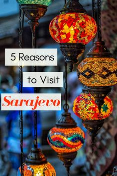 The Top Reasons Why You Have to Visit Sarajevo on Your Next Trip to Europe. Wedged between a horrifying past and a hopeful future, Sarajevo is a unique gem of a city that isn't to be missed. Here is what you can expect when you visit!