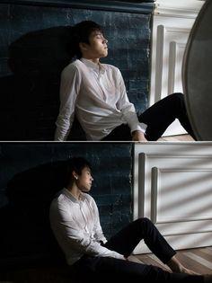 Nam Woohyun 'Write..' Jacket Shooting BTS© Naver