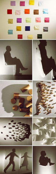 Shadow Art! - Arte com sombras por Kumi Yamashita | Criatives | Blog Design, Inspirações, Tutoriais, Web Design