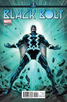 Black Bolt #1 (2017) Variant Cover by Butch Guice