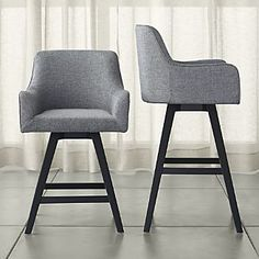 Harvey Swivel Bar Stools - These look comfortable! & Ariana Swivel Bar Stool Dark Grey - Dining Stools - Dining ... islam-shia.org