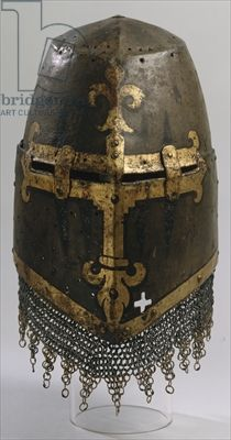 Helmet, from Nuremberg (iron) great tournament helm Medieval Knight, Medieval Armor, Medieval Fantasy, Armadura Medieval, Knight In Shining Armor, Knight Armor, Renaissance, Inspiration Drawing, Ancient Armor