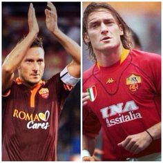 Totti...now and then
