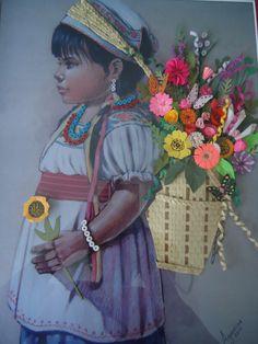 La niña florista
